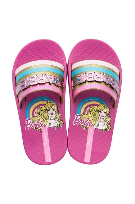 Ip Barbie Slide Kids Pembe Çocuk Terlik